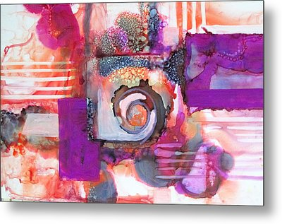 Color My Way Metal Print by Patricia Mayhew Hamm