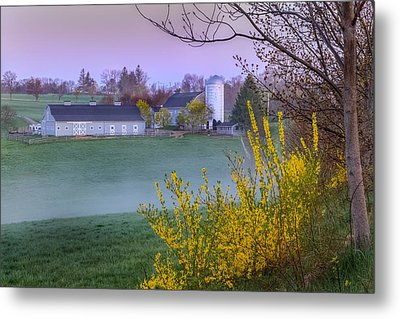 Color Of Spring Metal Print by Bill Wakeley