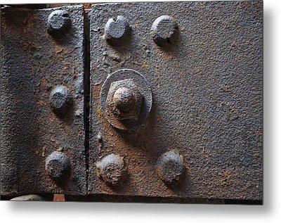 Metal Print featuring the photograph Color Of Steel 3 by Fran Riley
