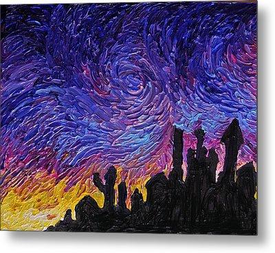 Color Of The Sky Part1 Metal Print by Felix Concepcion