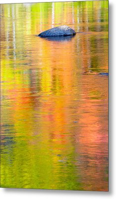 Color Reflections-1 Metal Print by Michael Hubley