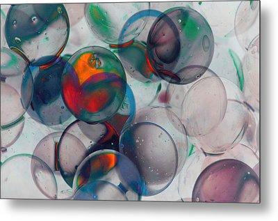 Color Spheres Metal Print by Dennis James