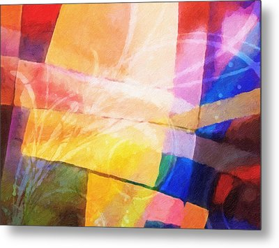 Color Symphony Metal Print by Lutz Baar
