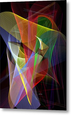 Color Symphony Metal Print