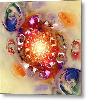 Color Wheel Metal Print by Anastasiya Malakhova