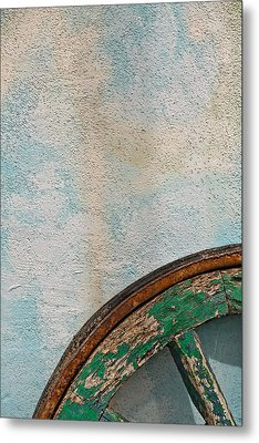Color Wheel Metal Print by Peter Tellone