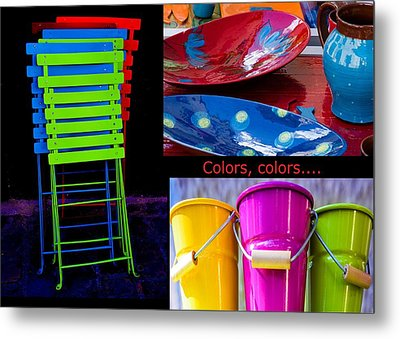 Color Your Life 1 Metal Print by Dany Lison