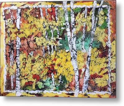 Colorado Batik Metal Print
