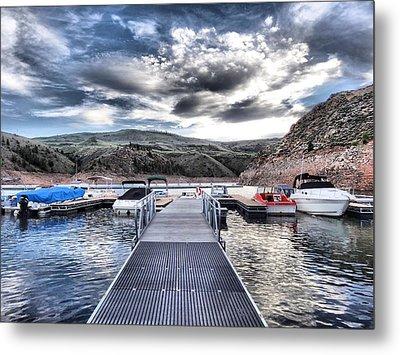 Colorado Boating Metal Print by Dan Sproul