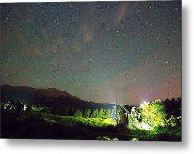Colorado Chapel On The Rock Dreamy Night Sky Metal Print by James BO  Insogna