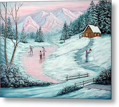 Colorado Christmas Metal Print by Fran Brooks