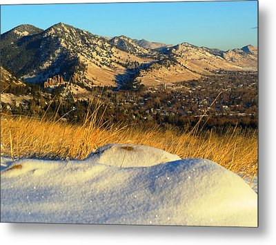 Colorado Front Range Sunrise Metal Print