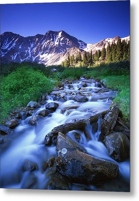 Colorado High Country Metal Print by Ray Mathis