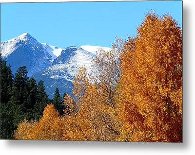 Colorado Mountains In Autumn Metal Print