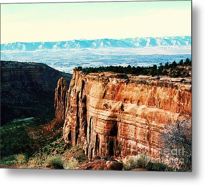 Colorado National Monument Metal Print by Polly Peacock