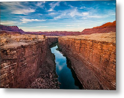 Colorado River At Marble Canyon Metal Print by Erica Hanks