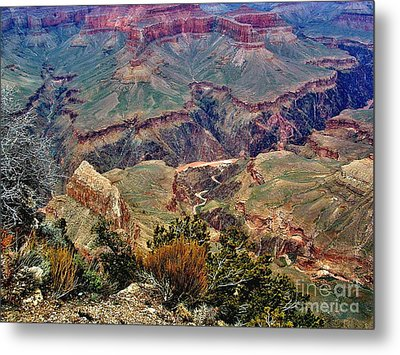 Colorado River Grand Canyon Metal Print by Marilyn Smith