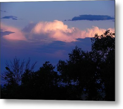 Colorado Storm Clouds Metal Print