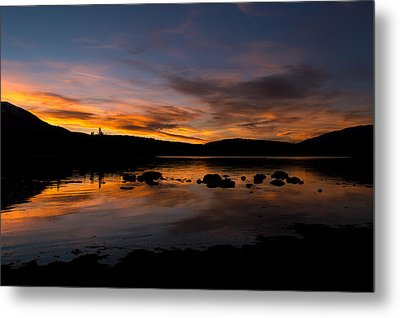 Colorado Summer Sunset Metal Print by Michael J Bauer