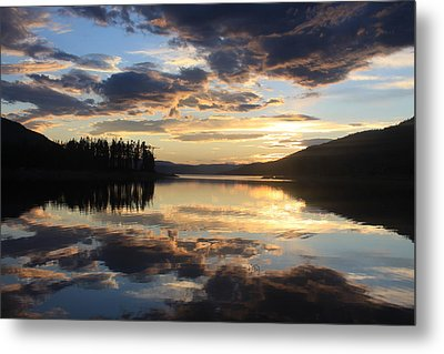Metal Print featuring the photograph Colorado Sunset by Chris Thomas