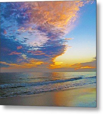 Colored Ocean Metal Print