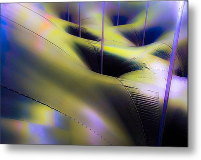 Colored Symetry Metal Print by Eric Sloan