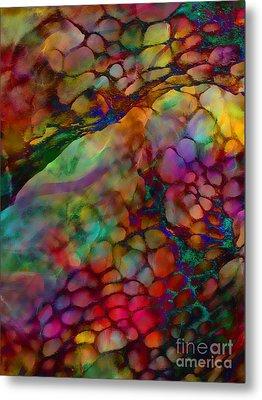 Colored Tafoni Metal Print by Klara Acel