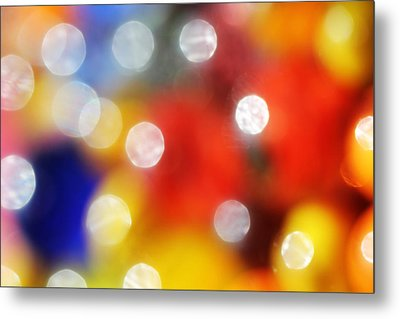 Colorful Abstract 8 Metal Print by Mary Bedy