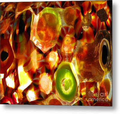 Colorful Abstract Metal Print by Ausra Huntington nee Paulauskaite