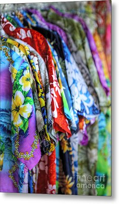 Colorful Aloha Metal Print by Deena Otterstetter
