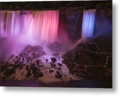 Colorful American Falls Metal Print by Adam Romanowicz