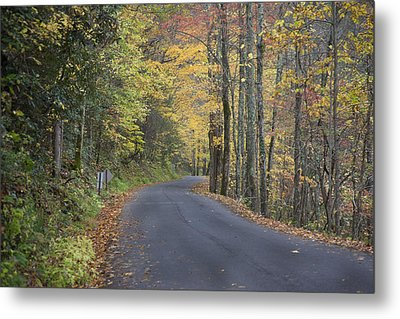 Metal Print featuring the photograph Colorful Backroads by Robert Camp