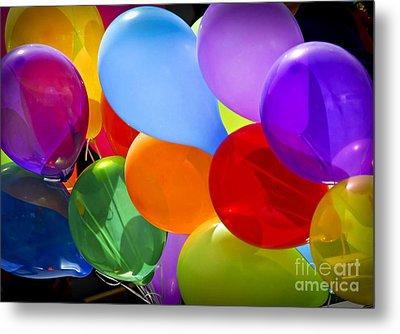 Colorful Balloons Metal Print by Elena Elisseeva