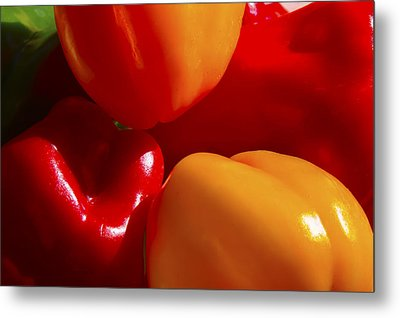 Metal Print featuring the photograph Colorful Bells by Gary Holmes