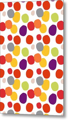 Colorful Confetti  Metal Print