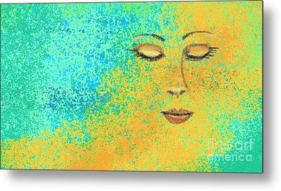 Colorful Dreams Metal Print by Hilda Lechuga