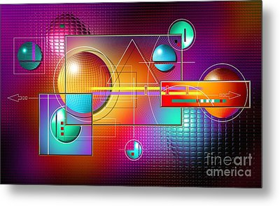 Colorful Metal Print by Franziskus Pfleghart