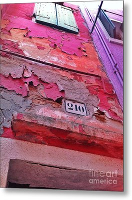 Colorful Layers  Metal Print