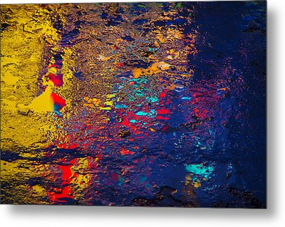 Colorful Reflections Metal Print by Garry Gay