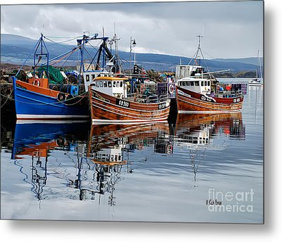 Colorful Reflections Metal Print by Lois Bryan