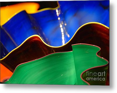 Colorful Shells Metal Print by Edna Weber