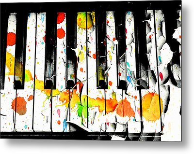 Aaron Berg Metal Print featuring the photograph Colorful Sound by Aaron Berg