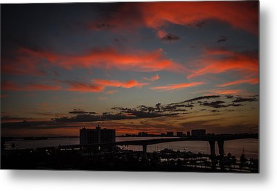 Metal Print featuring the photograph Colorful Sunset by Jane Luxton