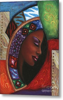 Colorful Thought Metal Print