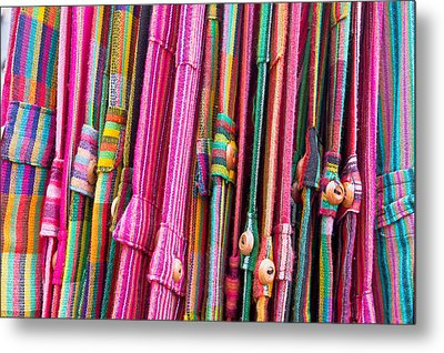 Colorful Trousers Metal Print by Tom Gowanlock