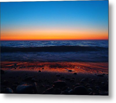 Colorful Twilight Metal Print