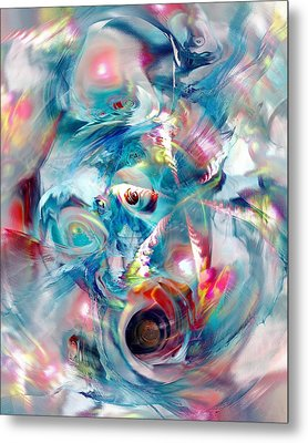 Colorful Water Metal Print