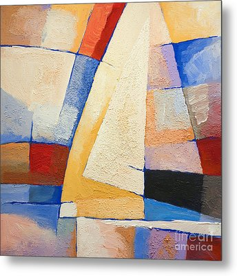 Colorful Winds Metal Print by Lutz Baar