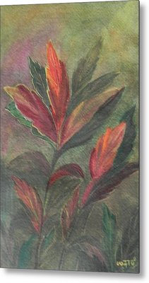 Colorfull Metal Print by Usha Rai