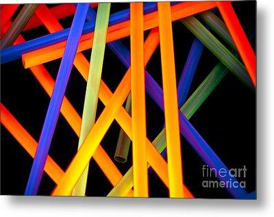 Coloring Between The Lines Metal Print by Charles Dobbs